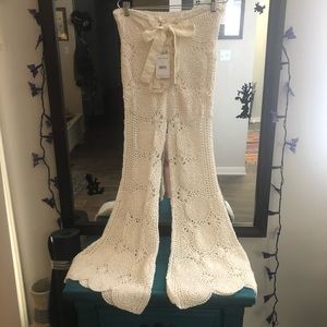 ultra flared crochet bell bottoms